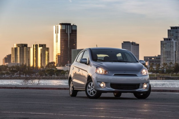 The 2016 Mitsubishi Mirage Rockford Fosgate Edition is a Mirage with a fancy radio