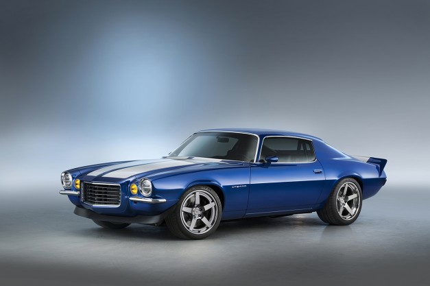 2015 SEMA: This 1970 Chevrolet Camaro restomod is for the lovers of the second-generation F-Body