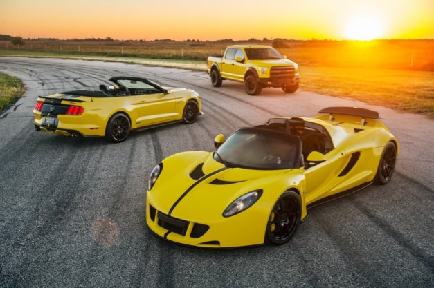 2015 SEMA Preview: The 2016 Hennessey Venom GT gets an eye-watering 1,451hp + F150 and Mustang