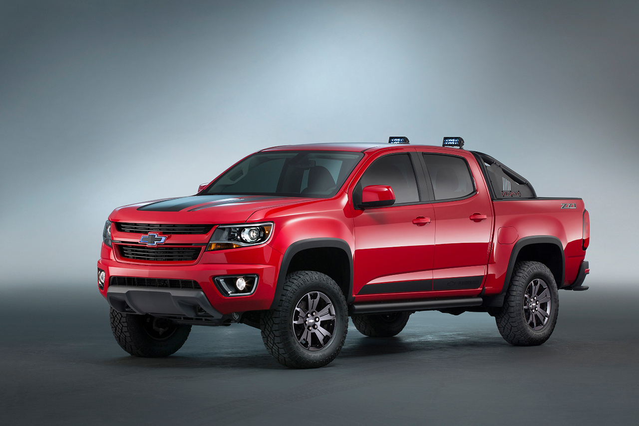 2015 SEMA - Chevrolet Colorado Z71 Trail Boss 3.0 Concept