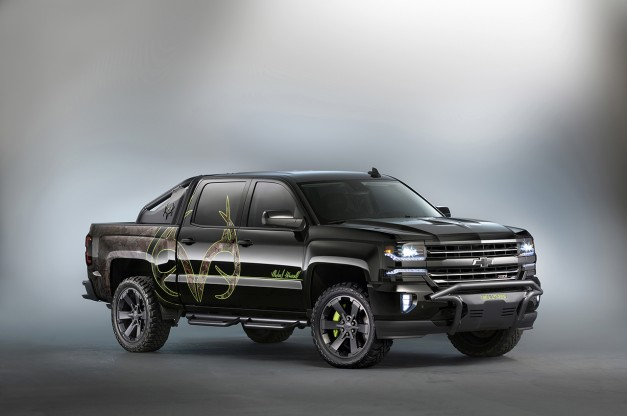 2015 SEMA: The Chevrolet Silverado Realtree Bone Collector is another custom concept for Vegas