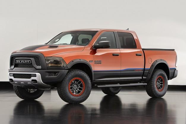 2015 SEMA: Dodge brings a Ram Rebel X to Las Vegas