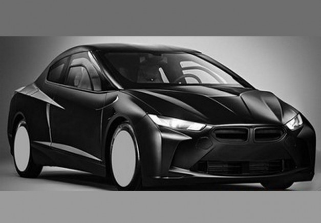 Report: The odd rendering of an apparent BMW concept was just a research vehicle