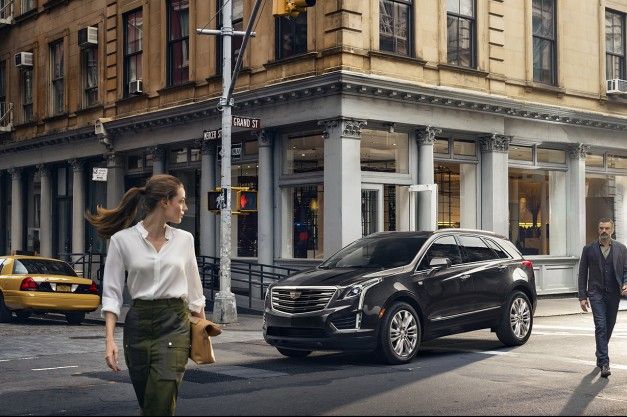 The 2017 Cadillac XT5 to be launched next spring to replace the SRX