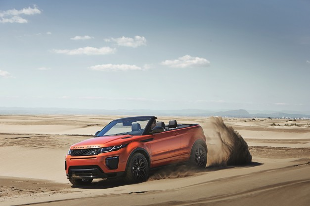 Land Rover reattempts the crossover cabriolet with the Range Rover Evoque Convertible w/ video