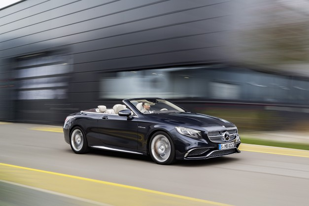 The Mercedes-AMG S65 Cabriolet is one fast and expensive way to get a new hairdo