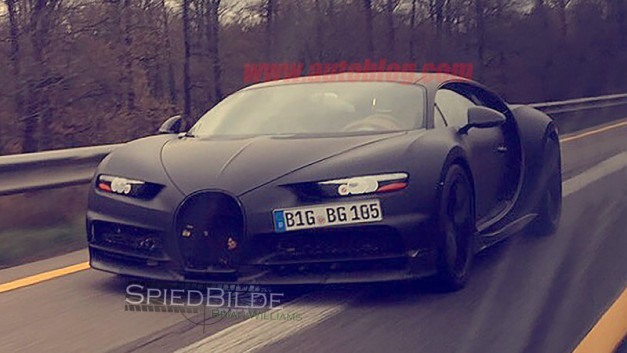 Spy Shots: This picture is the best look at the new Bugatti Chiron yet