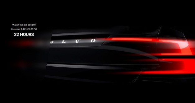 Tune in online to watch Volvo reveal the all-new S90 sedan from Sweden on Wednesday, Dec. 2nd
