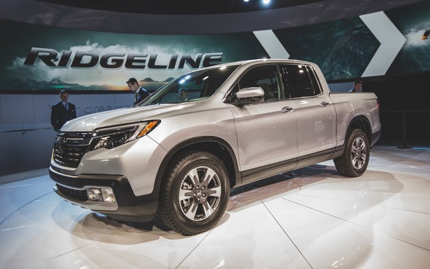 2016 Detroit: The 2017 Honda Ridgeline offers car-like performance with some truck capabilities
