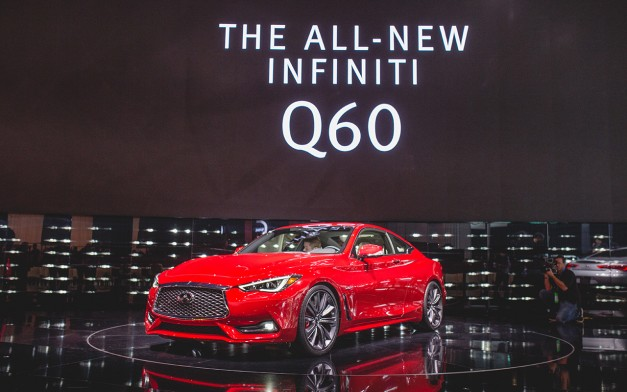 2016 Detroit: The production Infiniti Q60 Coupe arrives to Detroit for the first time