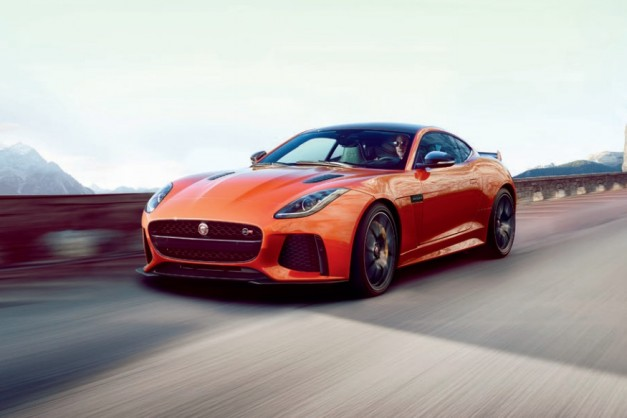 Leaked! The Jaguar F-Type SVR shows up on the web with 575hp and all-paw traction