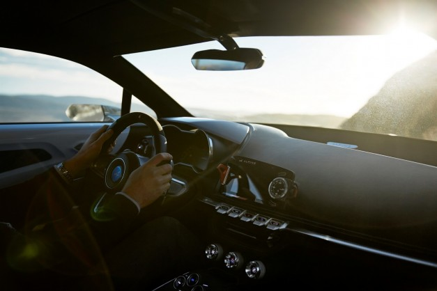 Teaser: The interior of Alpine's new sports car gets revealed, but it's only a concept