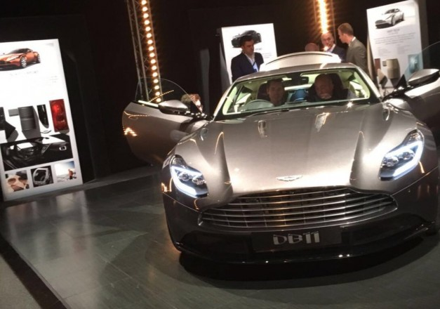 Leaked: Oh hello Aston Martin DB11, someone peeked at you with a smartphone camera