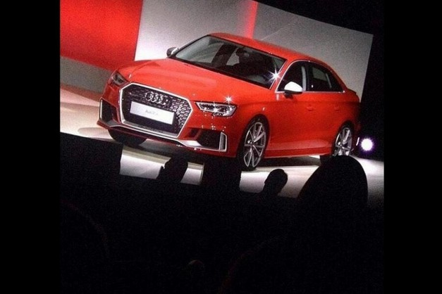Photo Leak: Did the Audi RS3 sedan just show up on the Interwebs?