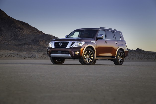 2016 Chicago: The 2017 Nissan Armada arrives as a slightly more affordable Infiniti QX80 w/ video