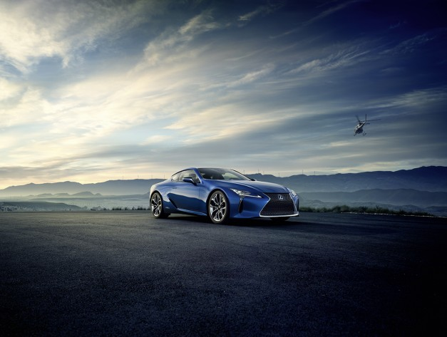 2016 Geneva Preview: Lexus reveals the hybridized LC500h luxury coupe