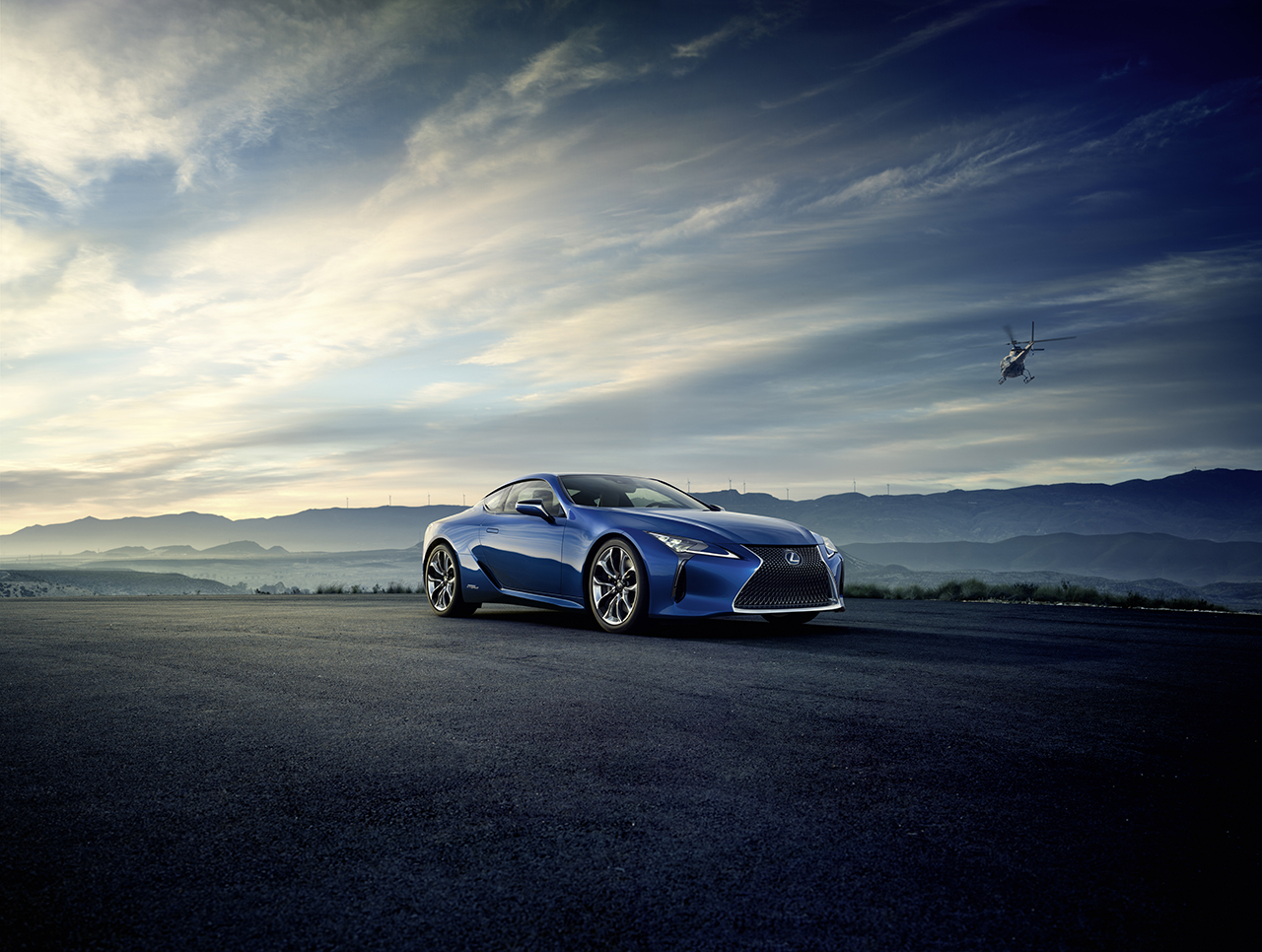 2016 Geneva Preview - Lexus LC500h