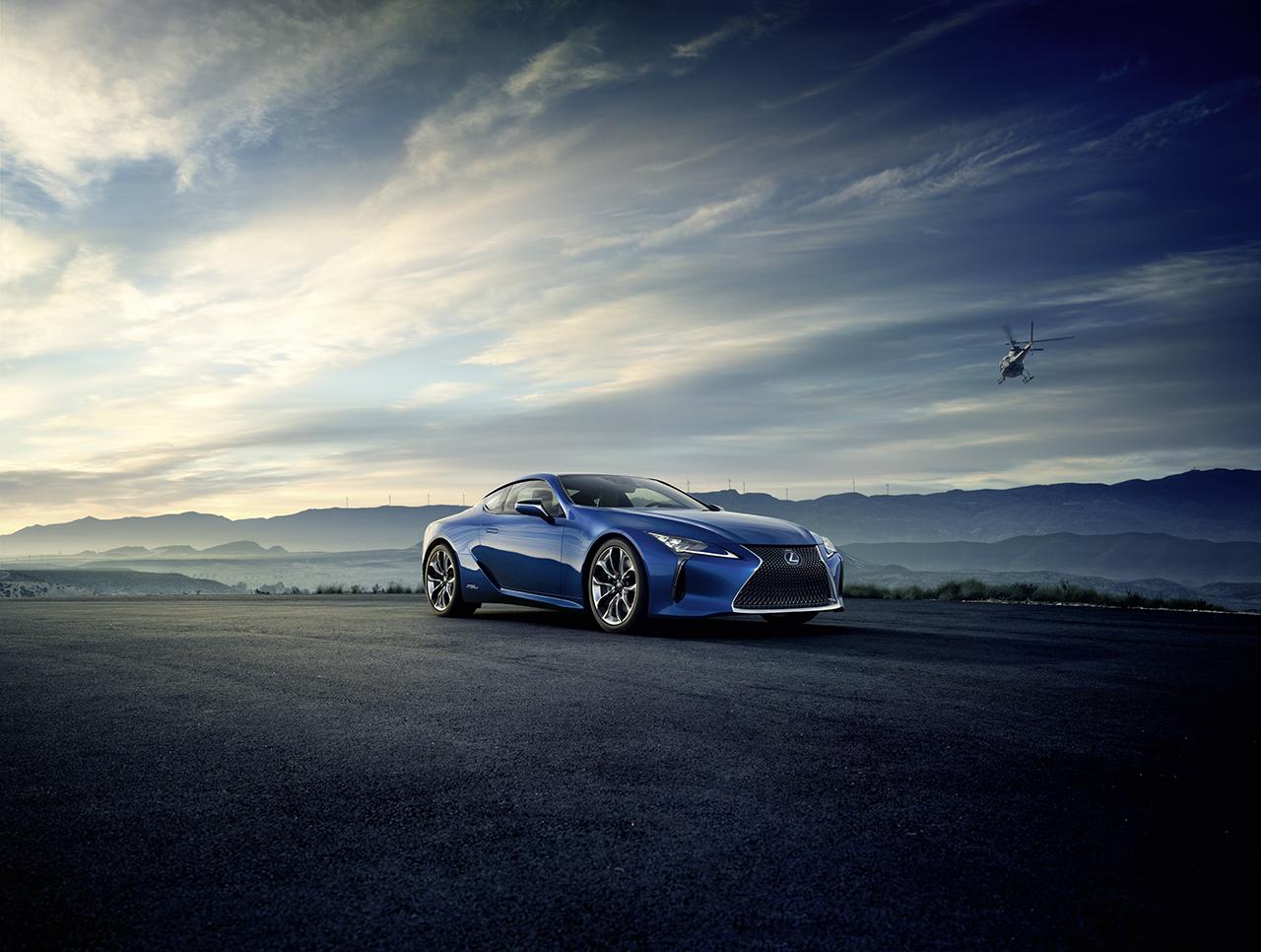 2016 Geneva Preview - Lexus LC500h