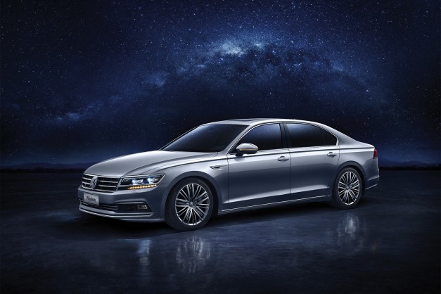 2016 Geneva: The Volkswagen Phideon is a Chinese-only flagship sedan, could hint at what's possible for next Phaeton