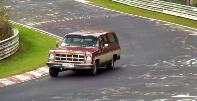 Video: Watch as these hilariously odd vehicles get spotted on the Nürburgring