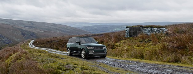The Holland & Holland Range Rover is J-LR's closest competitor yet to the Bentley Bentayga