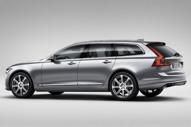 Photo Leak: This is the hot new 2017 Volvo V90 estate