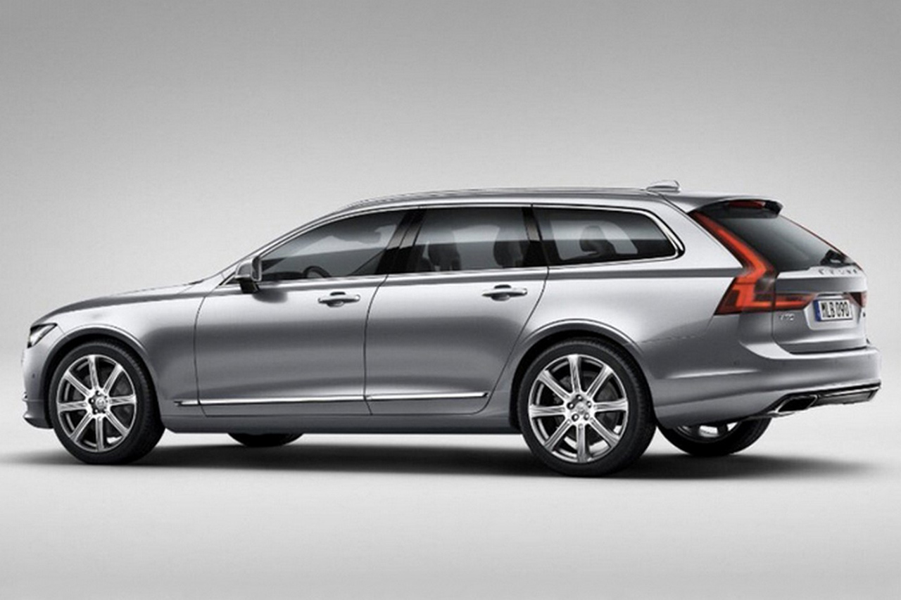 2017 Volvo V90 Photo Leak