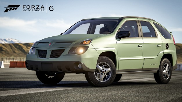 Ever wanted to track a Pontiac Aztek? Now you can, on Forza Motorsport 6