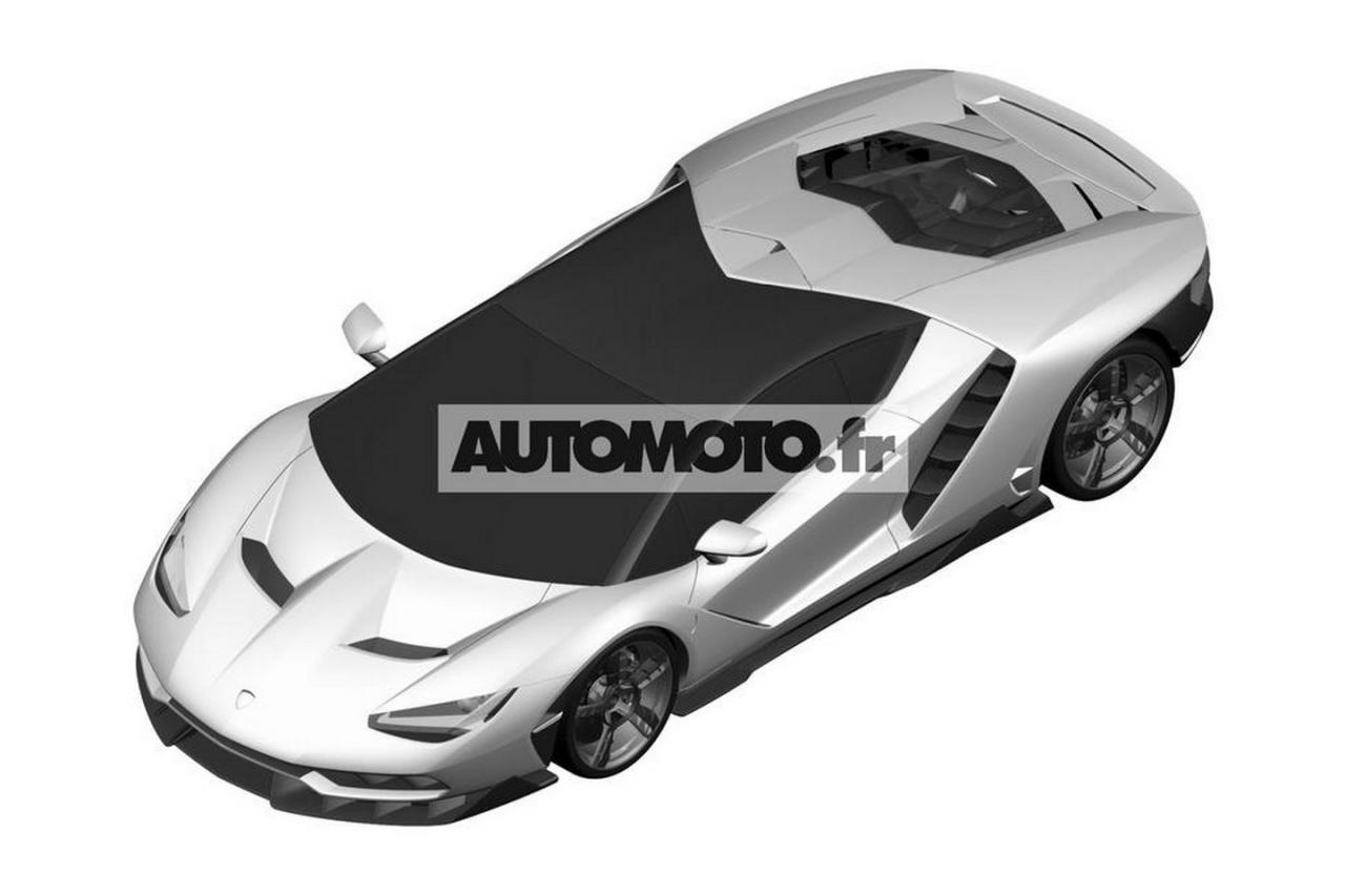 Photo Leak - Lamborghini Centenario LP 770-4