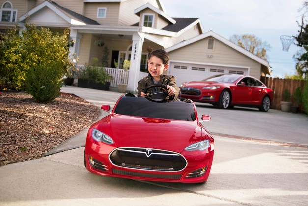 Have a youngen dreaming over your Tesla Model S? Get him or her one too