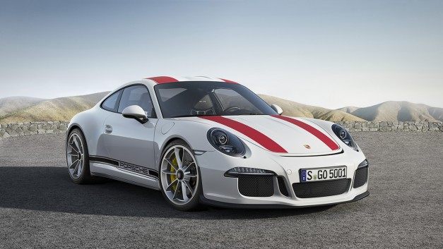 2016 Geneva: Here's that manual-only Porsche 911 R everyone's been getting excited about