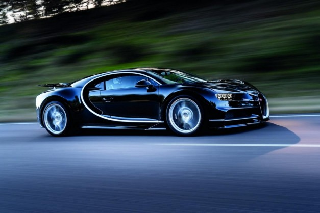 Black 2016 Bugatti Chiron