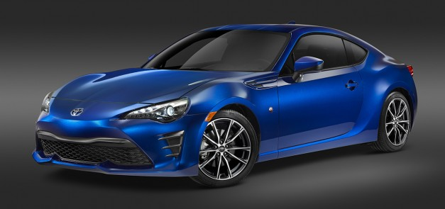 2016 New York Preview: Scion's lovely FR-S sports coupe finally gets the Toyota 86 name it deserves in the US