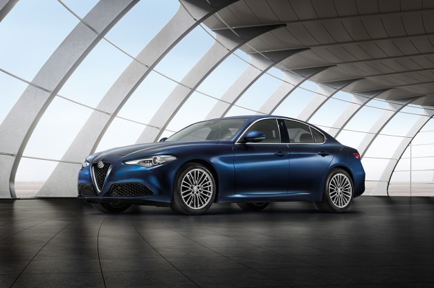 "2016 New York Preview: Alfa Romeo will be introducing some ""normal"" versions of the Giulia at the Javits"