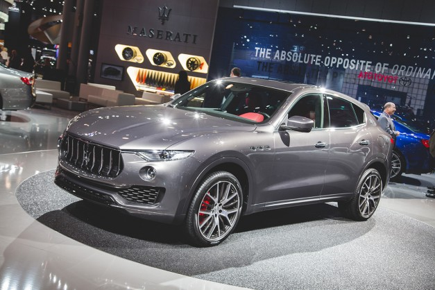 Report: Maserati is secretly developing a twin-turbo V8 Levante, possibly to duke it with the Porsche Cayenne Turbo S