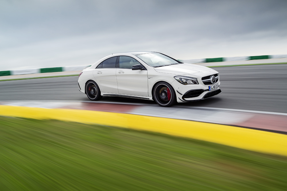 The 2017 Mercedes-AMG CLA45