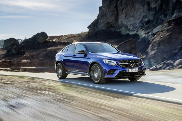 2016 New York Preview: The 2017 Mercedes-Benz GLC Coupe is the baby GLE we've been expecting