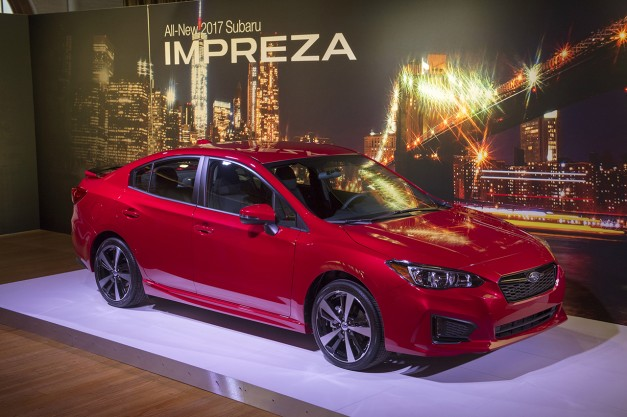 2016 New York Preview: The 2017 Subaru Impreza gets updated and revised for the Big Apple