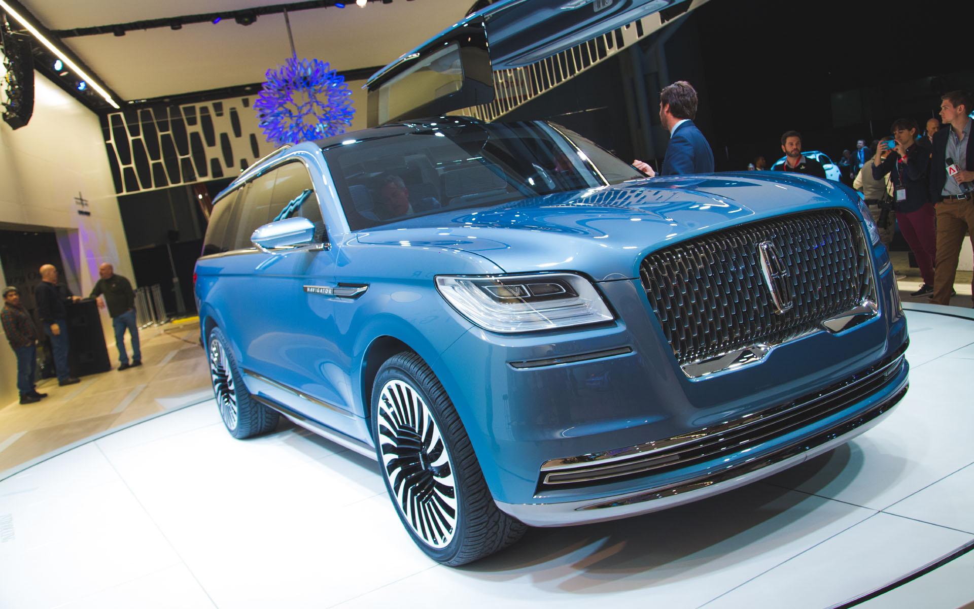 2016 New York - Lincoln Navigator Concept