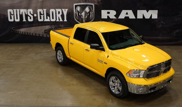 No, this new Dodge Ram isn't one for yellow cabbies, but it is a special edition model