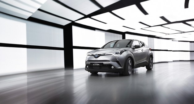 2016 New York Preview: Toyota's cute ute, formerly Scion's, the C-HR, to arrive in NYC as a concept