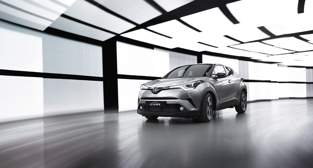 2016 Toyota C-HR European Spec
