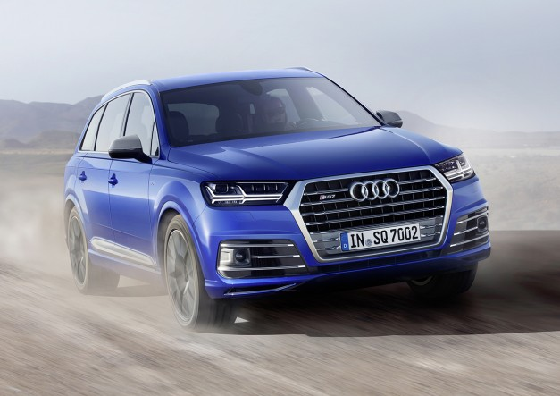 The Audi SQ7 TDI officially takes the title as the most powerful diesel-powered crossover SUV you can buy
