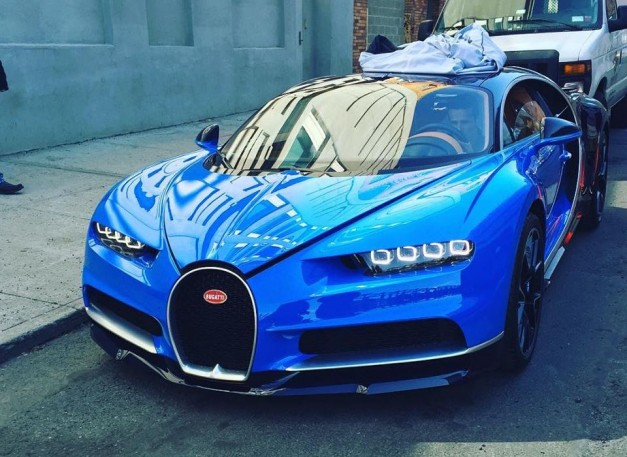 Spy Shots: The Bugatti Chiron becomes a surprise guest at the New York International Auto Show