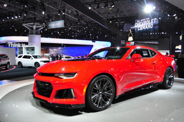 Report: The 2017 Chevrolet Camaro ZL1 should sport 650hp