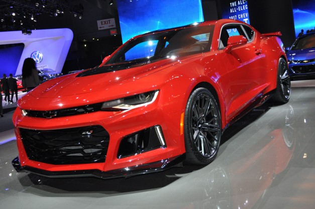 2016 New York: Z06-powered Camaro ZL1 is a declaration of war