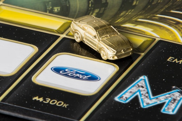 The sixth generation Ford Mustang becomes a player piece in the latest Monopoly Empire board game