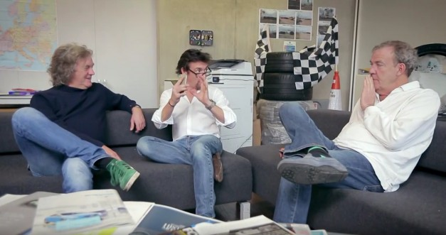 Video: Watch Jezza, Hamster, and Captain Slow ponder aimlessly over the name of their new show