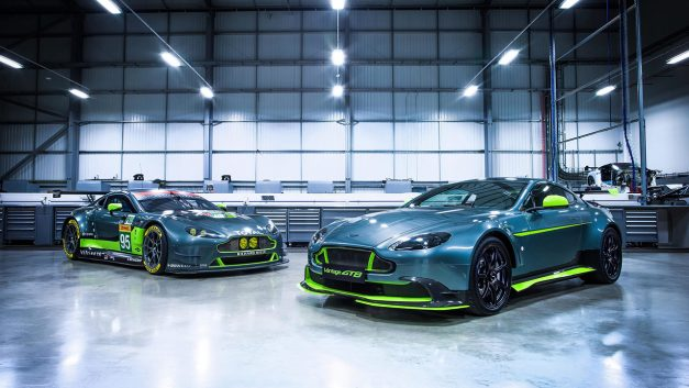 The Aston Martin Vantage GT8 is the latest lightweight limited edition version we've been promised w/ video