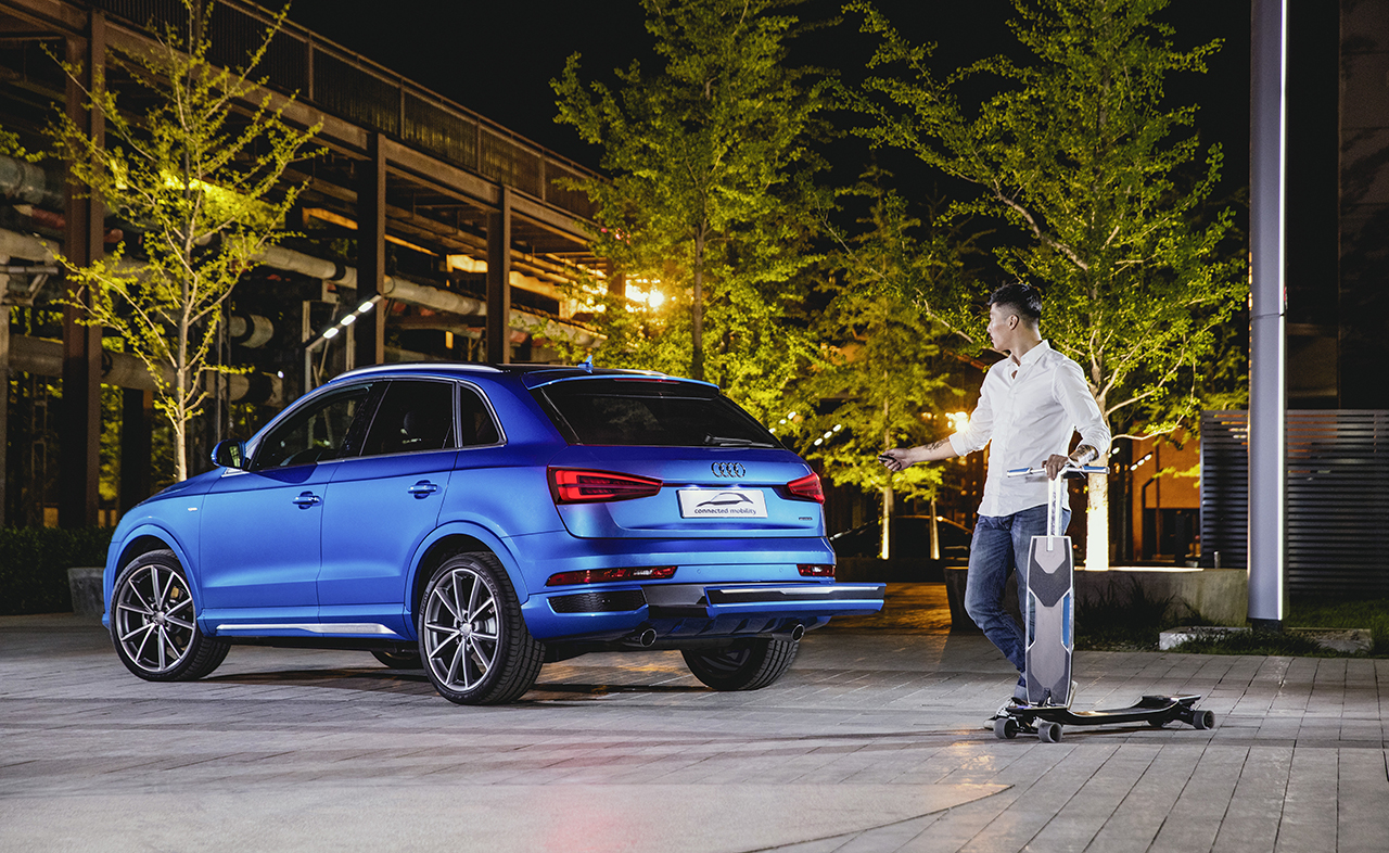 2016 Beijing - Audi Q3 Connected Mobility Concept